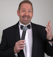 Alfie Moore black tie headshot 2 by Clear Lens Photography